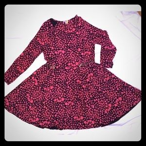 Juicy Couture Dress Pink Navy Stretchy